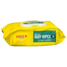 Sunny Smile Baby Wipes Unscented