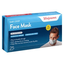 Walgreens Earloop Style Face Mask