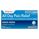 Walgreens All Day Pain Relief Tablets