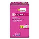 Walgreens Certainty Women's Bladder Protection Pads Long Length