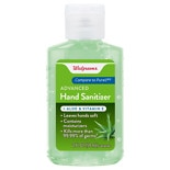 Walgreens Advanced Hand Sanitizer GelAloe