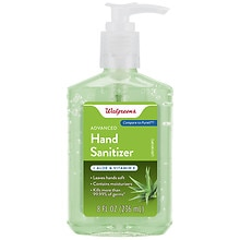 Walgreens Advanced Hand Sanitizer Gel Aloe