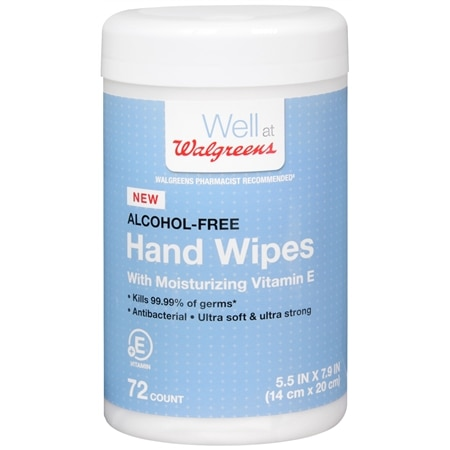 Walgreens Hand Wipes
