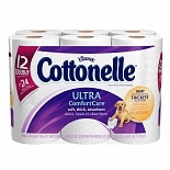 Cottonelle Ultra Comfort Care Toilet Paper, Double Roll,
