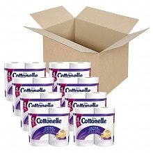 Cottonelle Ultra Comfort Care Toilet Paper, Double Roll