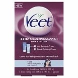 Veet Facial Hair Cream Kit