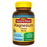 Nature Made Magnesium Citrate 250mg, Softgels