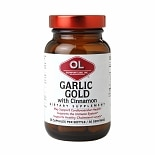 Olympian Labs Garlic Gold with Cinnamon, Capsules