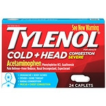 TYLENOL Cold Head Congestion Severe Caplets
