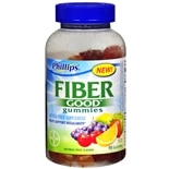 Phillips Fiber Good Gummies Soluble Fiber Supplement Natural Fruit Flavors