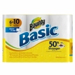 Save up to 20% on Bounty paper towels.