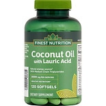 Finest Nutrition Coconut Oil Softgels