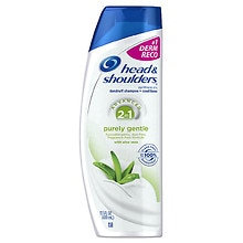Head & Shoulders Purely Gentle Scalp Care 2-in-1 Dandruff Shampoo and Conditioner
