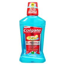 Colgate Total Advanced Pro-Shield Mouthwash Peppermint Blast