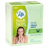 Puffs Fresh Faces Nose Wipes Vicks Menthol