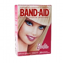 Band-Aid Adhesive Bandages Barbie