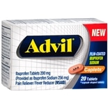 Advil Film-Coated Ibuprofen Sodium Caplets