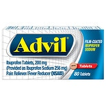 Advil Film-Coated Ibuprofen Sodium Tablets