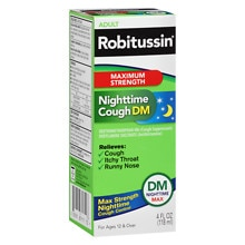 Robitussin Maximum Strength Nighttime Cough DM