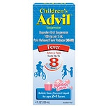 Children's Advil Ibuprofen Fever Reducer/Pain Reliever Oral Suspension Bubblegum