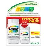 Centrum Multivitamins and Caltrate Calcium Supplments