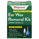 Walgreens Ear Wax Removal Kit with Bulb 0.5oz