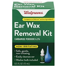 Walgreens Ear Wax Removal Kit