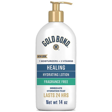 Gold Bond Ultimate Healing Skin Therapy Lotion Fragrance Free