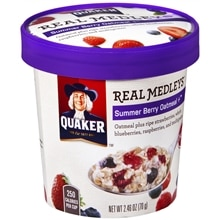 Quaker Oats Real Medley Oatmeal Berry