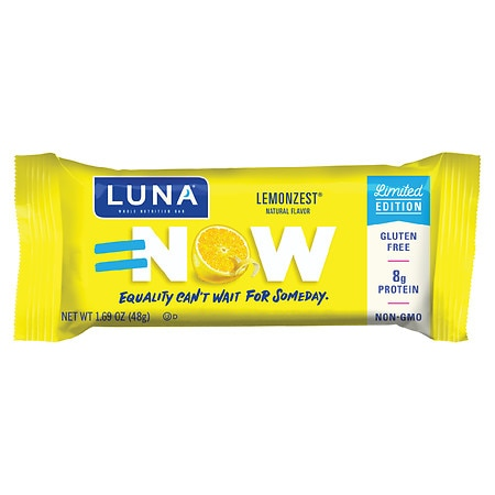 Luna Nutrition Bar for Women Lemon