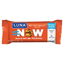 Luna Nutrition Bar for Women Nutz Over Chocolate