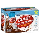 Boost Glucose Control Nutritional Drink, 12-8 Ounce Bottles Chocolate
