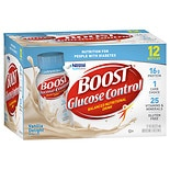 Boost Glucose Control Nutritional Drink, 12-8 Ounce Bottles Vanilla