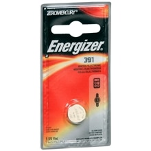 Energizer Watch/Electronic Silver Oxide Battery 391