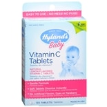 Hyland's Baby Baby Vitamin C Dietary Supplement Tablets Lemon