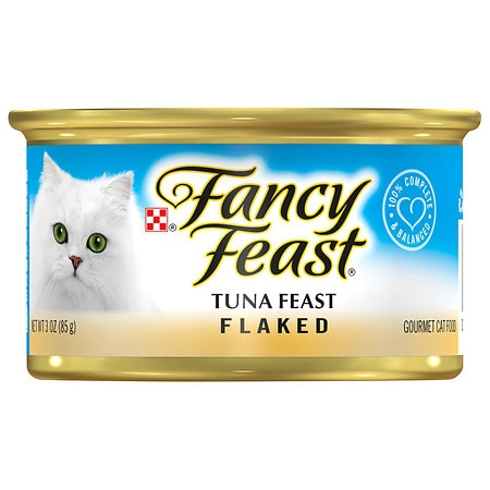Fancy Feast Flaked Gourmet Cat Food Tuna