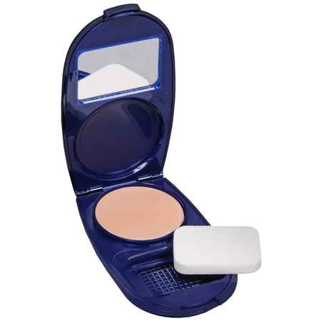 CoverGirl Aqua Smooth Compact Solid Foundation, SPF 15