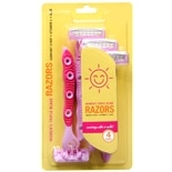 Sunny Smile Women's Triple Blade Razors