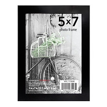 Home Elements Metal Picture Frame 5 x 7 in Assorted Black & Silver