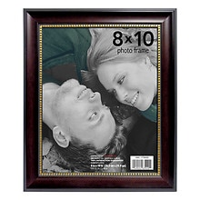 Home Elements Picture Frame 8 inch x 10 inch Black/Gold