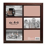 Home Elements Picture Frame 4 inch x 6 inch Brown