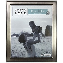 Home Elements Picture Frame 8 inch x 10 inch Silver