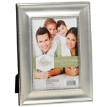 Home Elements Picture Frame 5 inch x 7 inch Silver