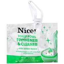 Nice! Toilet Bowl Freshener & Cleaner Solid