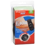 Walgreens Ace Tennis Elbow Strap Black Black