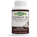 Nature's Way Coconut Oil Pure Extra Virgin 1,000mg, Softgels