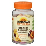 Sundown Naturals Calcium Gummies with Vitamin D3