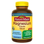Nature Made Magnesium Citrate 250 mg, Softgels