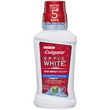 Colgate Optic White Mouthwash Mint