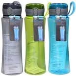 Living Solutions Water Bottle 24 oz Assorted